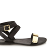 Glam-Aholic Retail Therapy: Forever 21 Gold Trim Sandals
