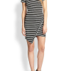 Glam-Aholic Look For Less: Kylie Jenner's Striped Asymmetrical Dress
