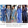 Glam-Aholic Retail Therapy: Forever 21 Collared Denim Jumpsuit