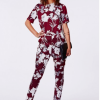 What Mia Ray Wore: Missguided Floral Silk Printed Set