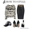 How To Style: Shaggy Faux Fur