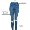 Mia Ray's Favorite Jeans: H&M + TOPSHOP