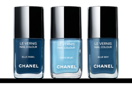 Chanel's Blue Jean Inspired Nail Polish