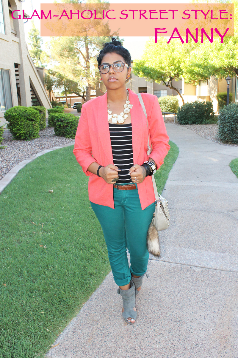 Glam-Aholic Street Style: Fanny From Arizona
