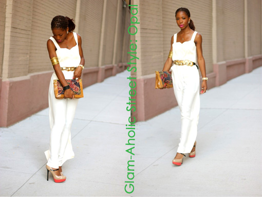 Glam-Aholic Street Style: Opal From NYC