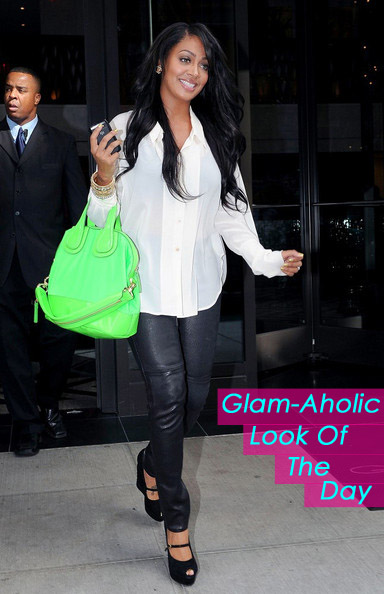 Glam-Aholic Look Of The Day: Lala Vasquez-Anthony