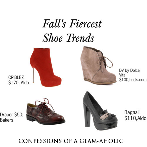 Fall's Fiercest Shoe Trends