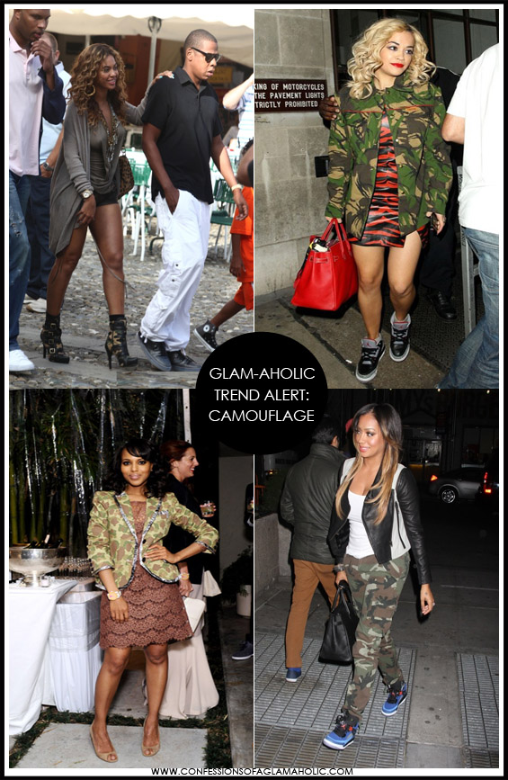 Glam-Aholic Trend Alert: Camouflage