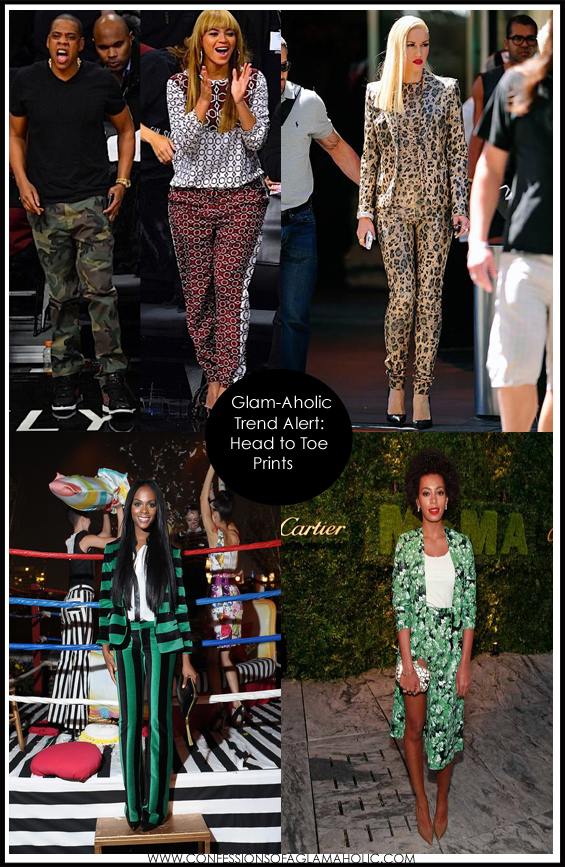 Glam-Aholic Trend Alert: Head-To-Toe Prints